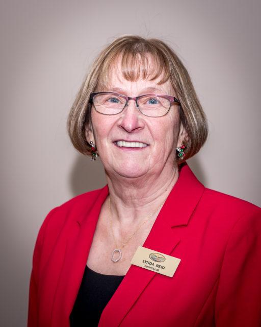Image of councillor Lynda Reid